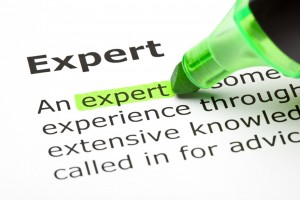 The word 'Expert' highlighted in green