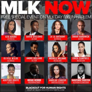 "Event PR/Production: ""MLK Now 2017"""