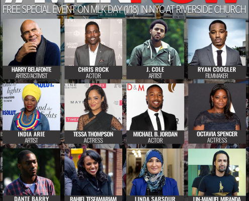 #MLKNOW Official Talent Graphic